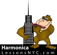 logo for harmonica-lessons-NYC
